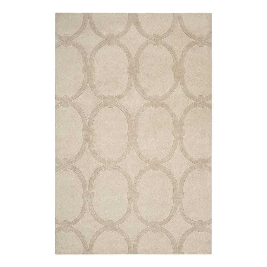 Surya Modern Classics Rectangular Indoor Tufted Area Rug (Common: 5 x 8; Actual: 60-in W x 96-in L)