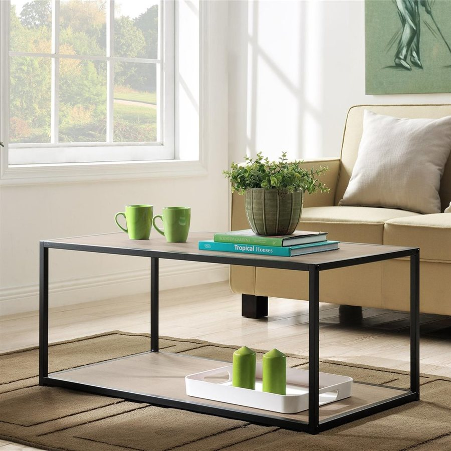 Altra Furniture Sonoma Oak Rectangular Coffee Table