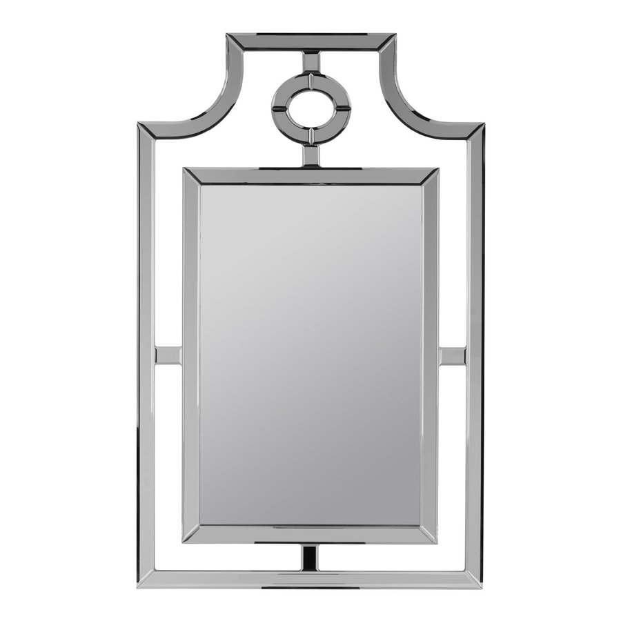 Shop cooper classics silverson polished frameless wall for Frameless wall mirror