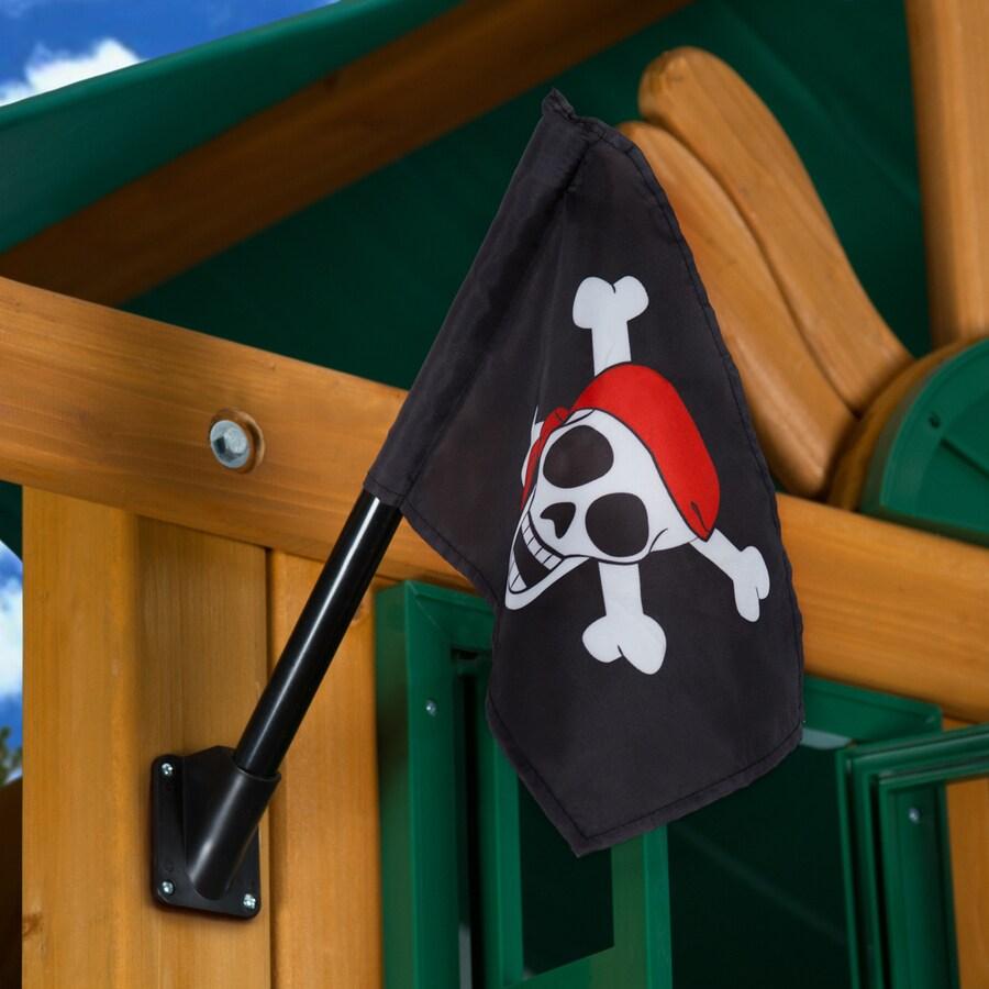 Gorilla Playsets Black Pirate Flag Kit