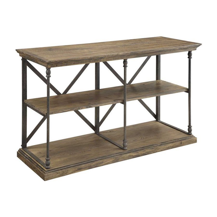 Coast to Coast Pine Console Table