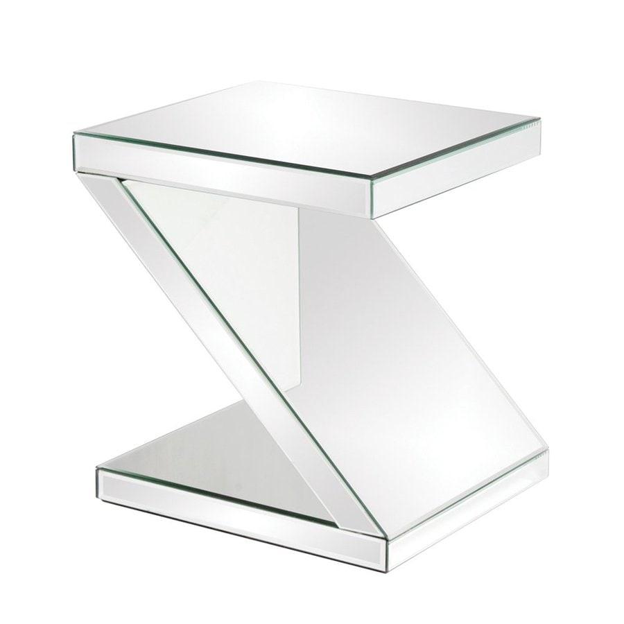 Tyler Dillon Mirrored Rectangular End Table