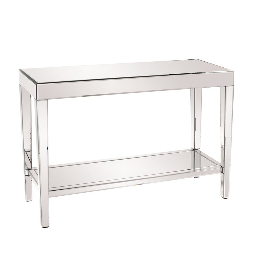Tyler Dillon Mirrored Rectangular Console Table