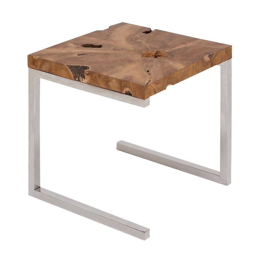 Aspire Home Accents Teak Teak End Table