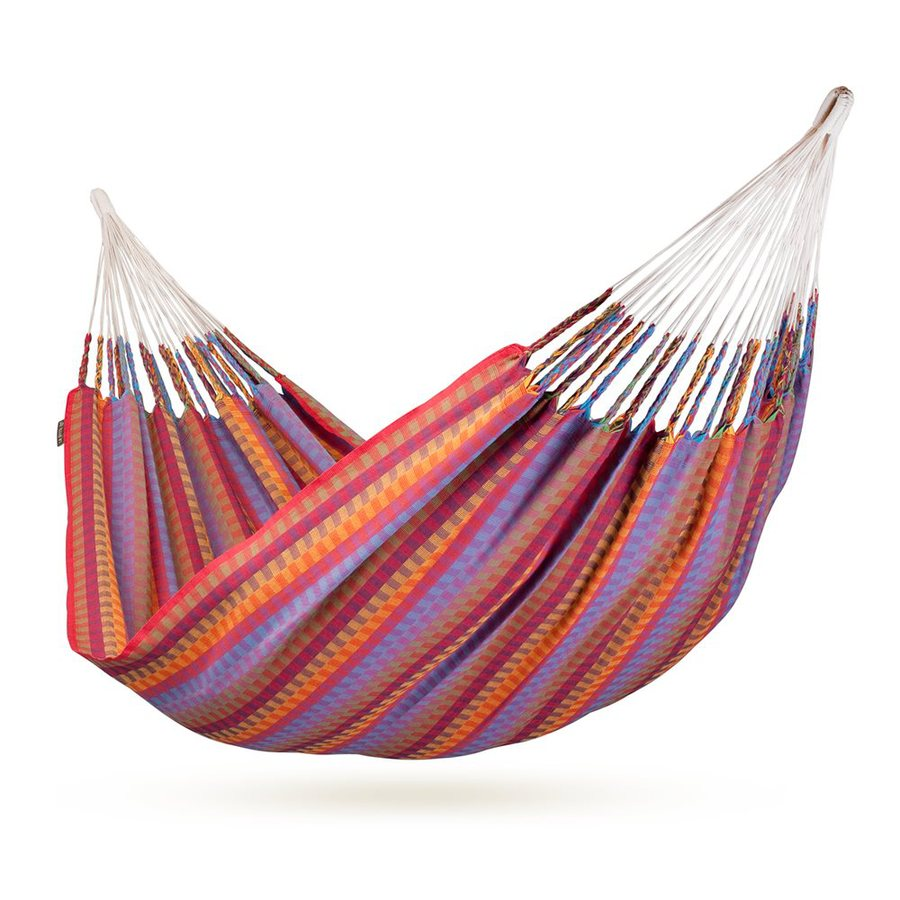 La Siesta Carolina Flowers Fabric Hammock