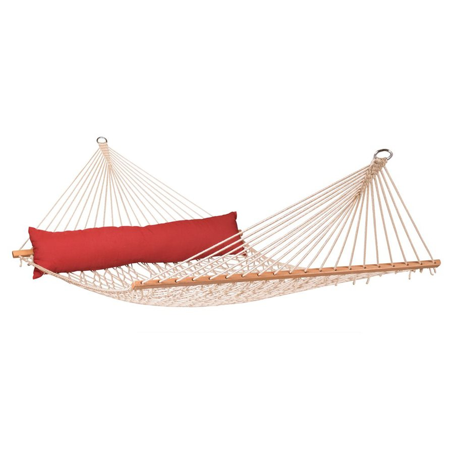 La Siesta California Red Pepper Rope Hammock