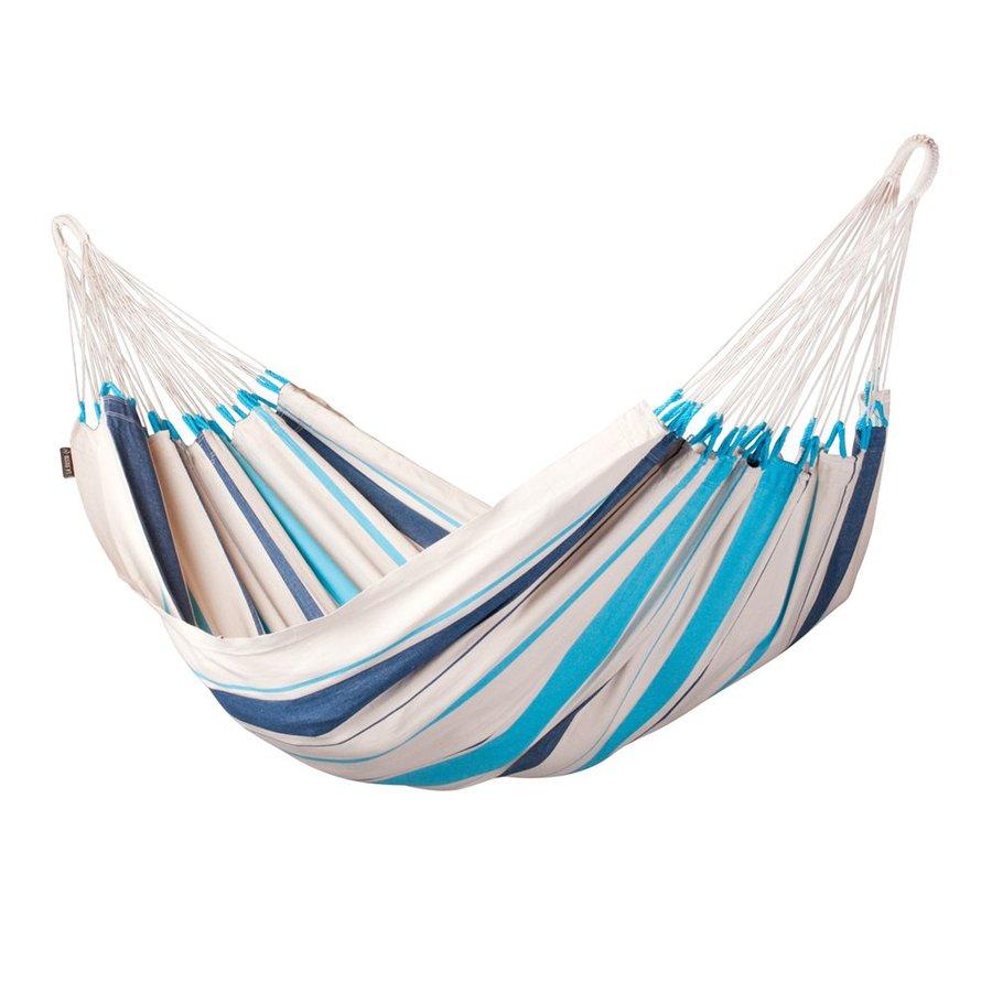 La Siesta Caribea Aqua Blue Fabric Hammock