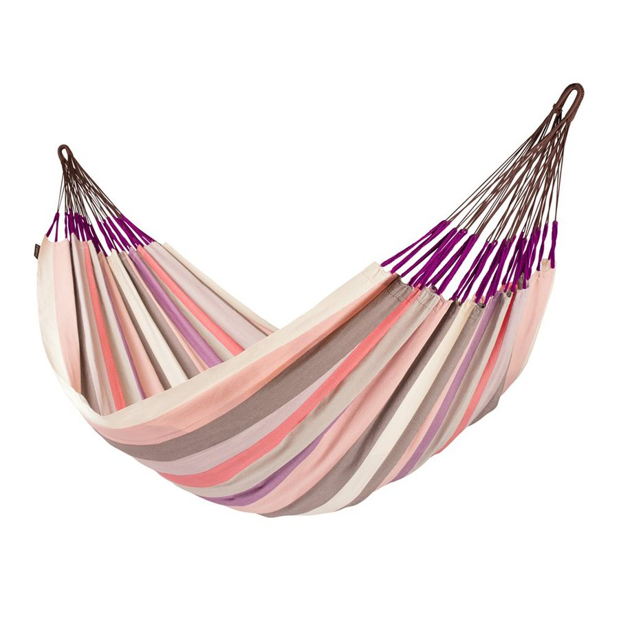 La Siesta Domingo Plum Fabric Hammock