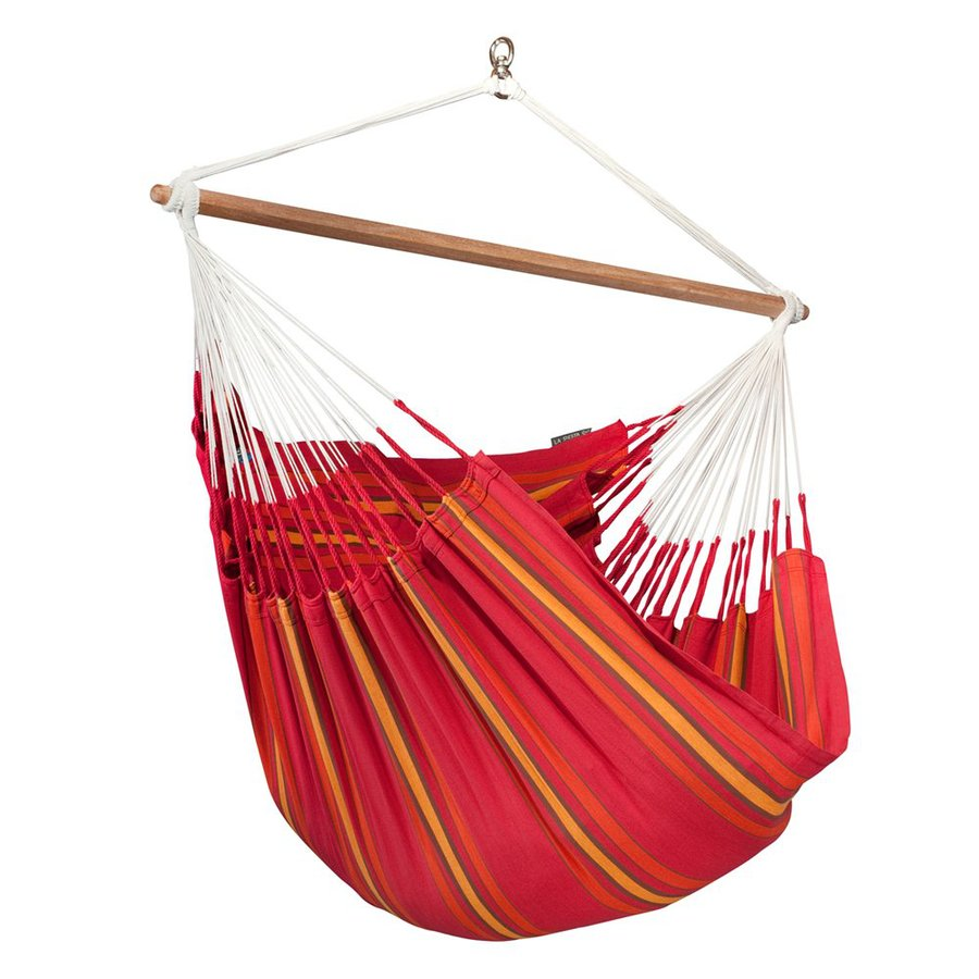 La Siesta Currambera Cherry Fabric Hammock Chair