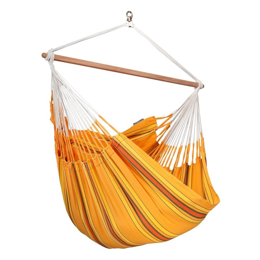 La Siesta Currambera Apricot Fabric Hammock Chair