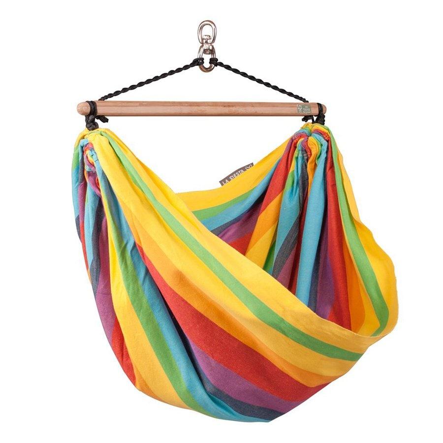 La Siesta Iri Rainbow Fabric Hammock Chair