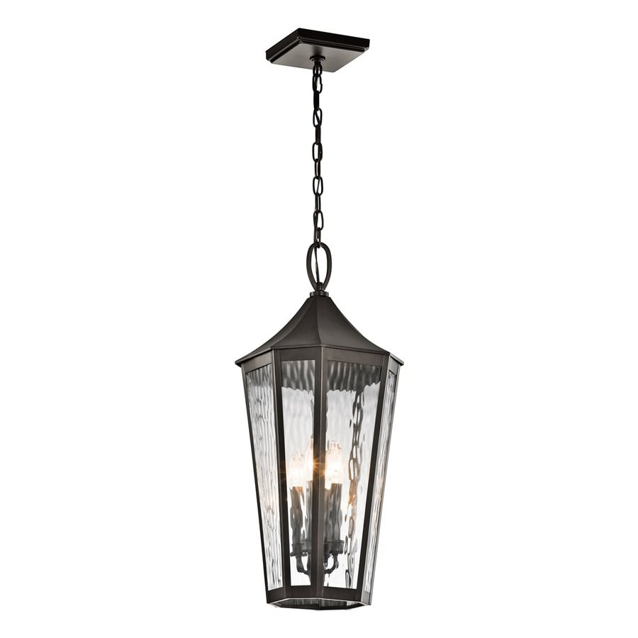 Kichler Rochdale 27.75-in Olde Bronze Outdoor Pendant Light