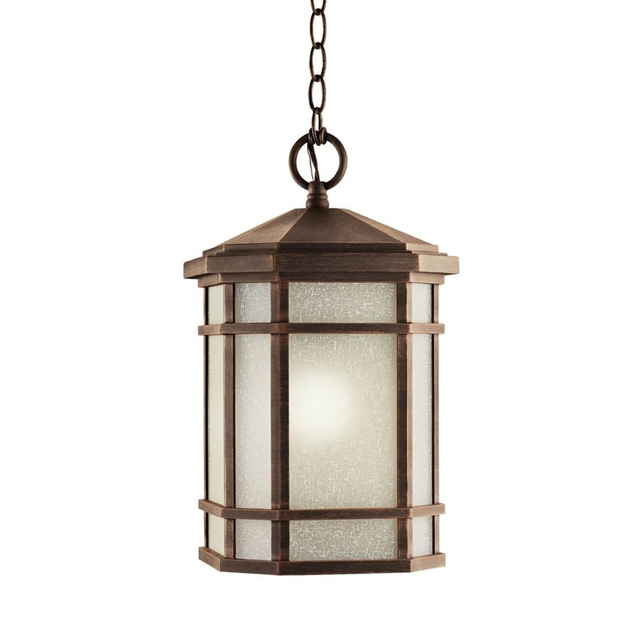 Shop kichler cameron prairie rock outdoor pendant Outdoor pendant lighting