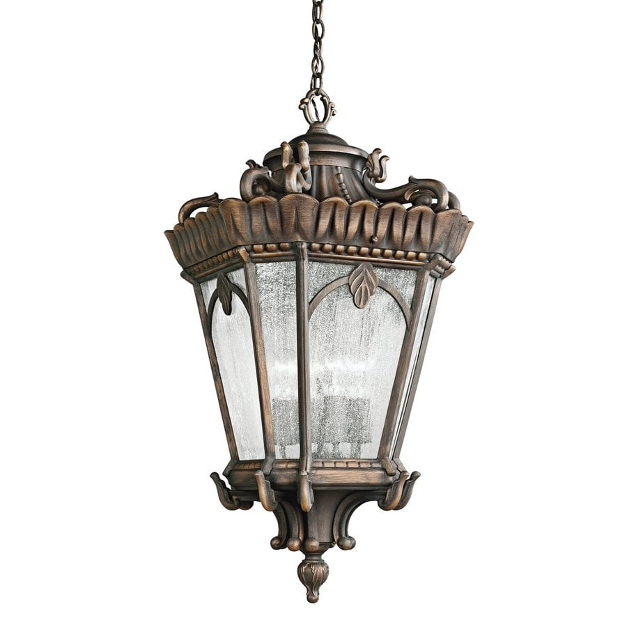 Kichler Tournai 33.5-in Londonderry Outdoor Pendant Light