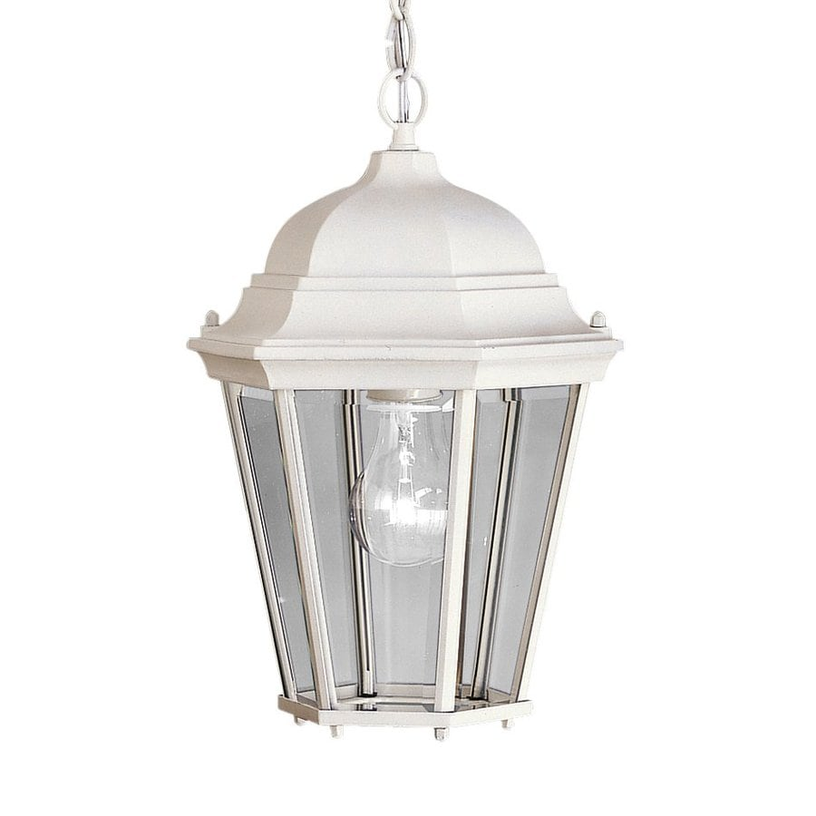 Kichler Lighting Madison 13.5-in White Outdoor Pendant Light