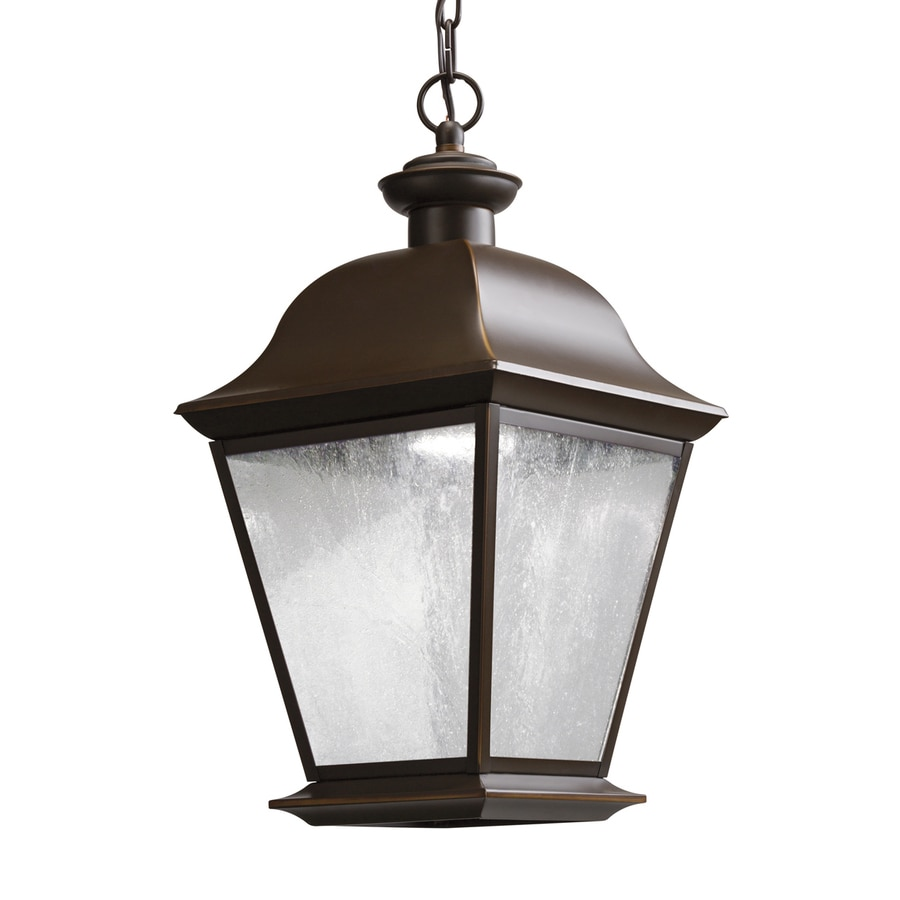 Shop kichler mount vernon 18 5 in olde bronze outdoor Outdoor pendant lighting