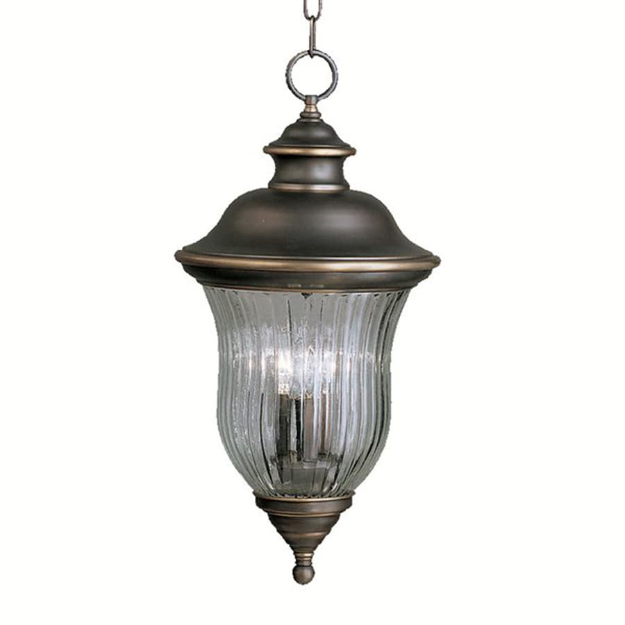 Kichler Lighting Sausalito 23-in Olde Bronze Outdoor Pendant Light