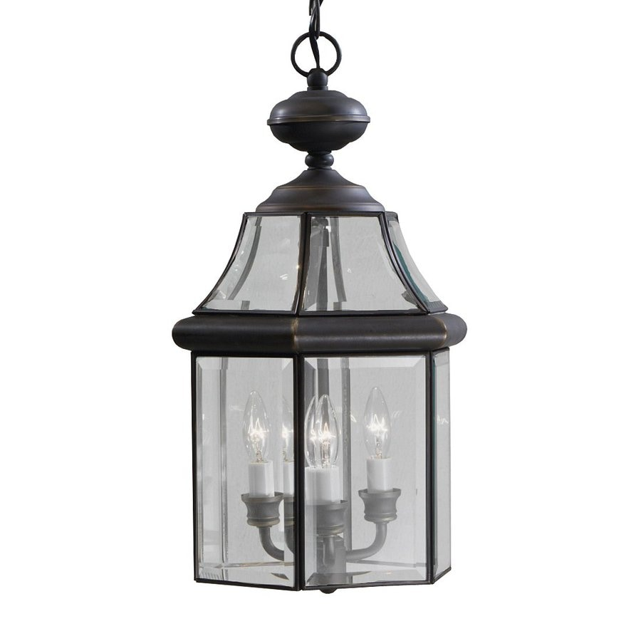 Kichler Embassy Row 19.5-in Olde Bronze Outdoor Pendant Light
