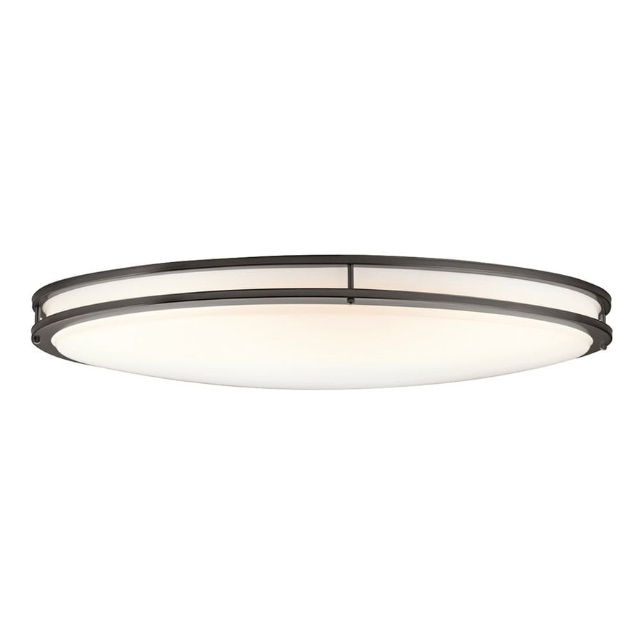 Kichler Verve 32.5-in W Olde Bronze Flush Mount Light