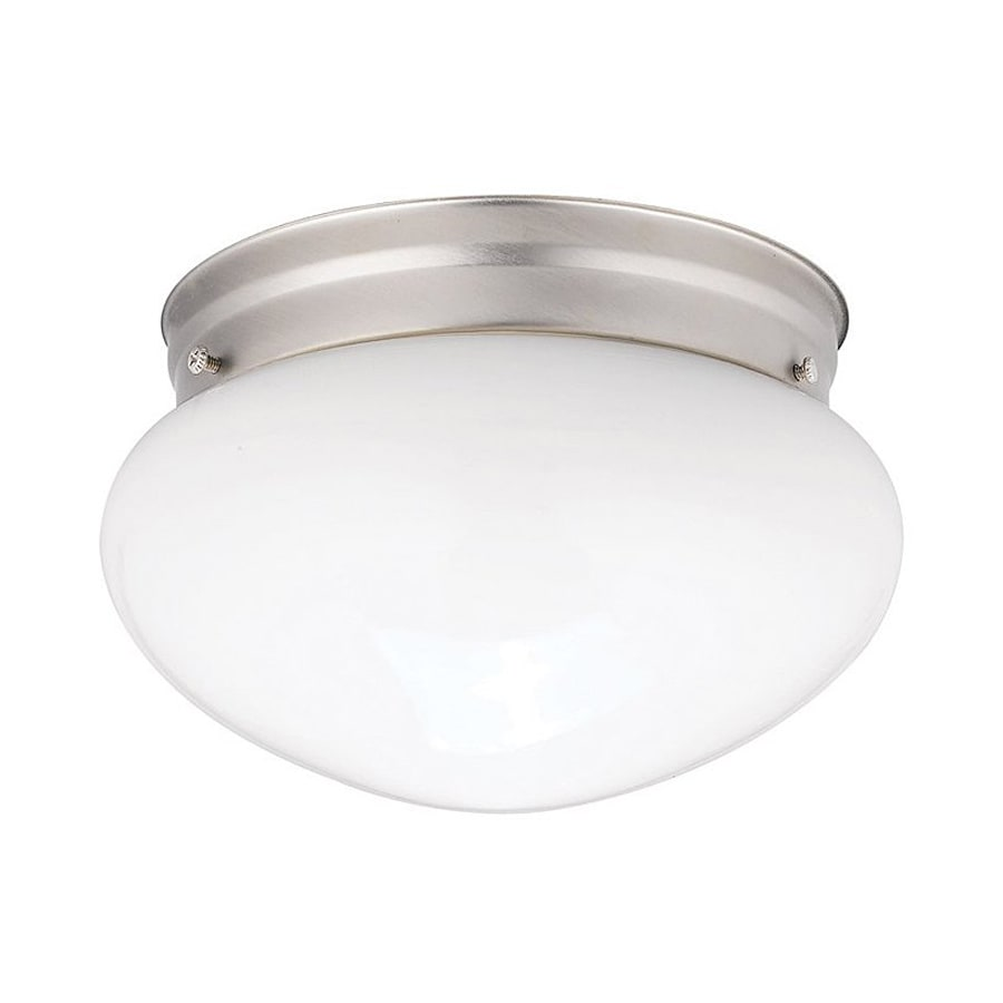 Kichler 12-Pack Ceiling Space 7.5-in W Brushed nickel Flush Mount Light