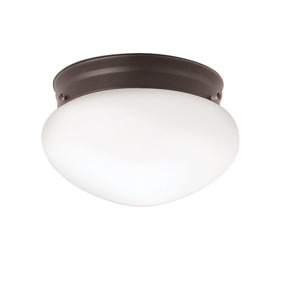 Kichler Lighting 12-Pack Ceiling Space 7.5-in W Olde Bronze Ceiling Flush Mount Light