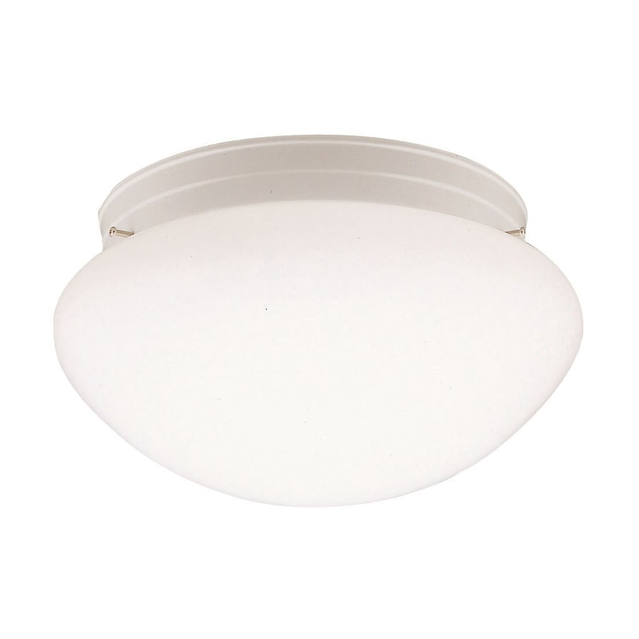 Kichler Ceiling Space 12-in W White Flush Mount Light