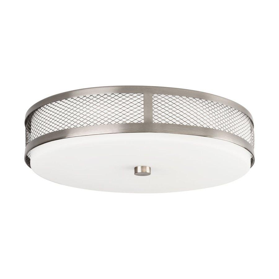 Kichler Lighting 13.25-in W Brushed Nickel LED Ceiling Flush Mount Light