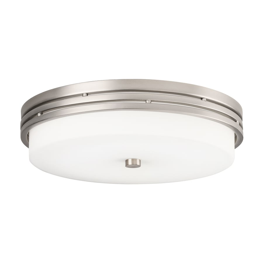 Kichler Lighting 14-in W Brushed Nickel LED Flush Mount Light