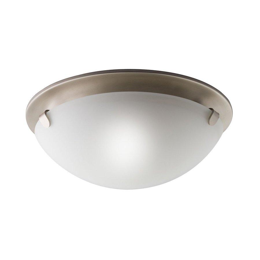 Kichler Lighting 13-in W Brushed Nickel Ceiling Flush Mount Light