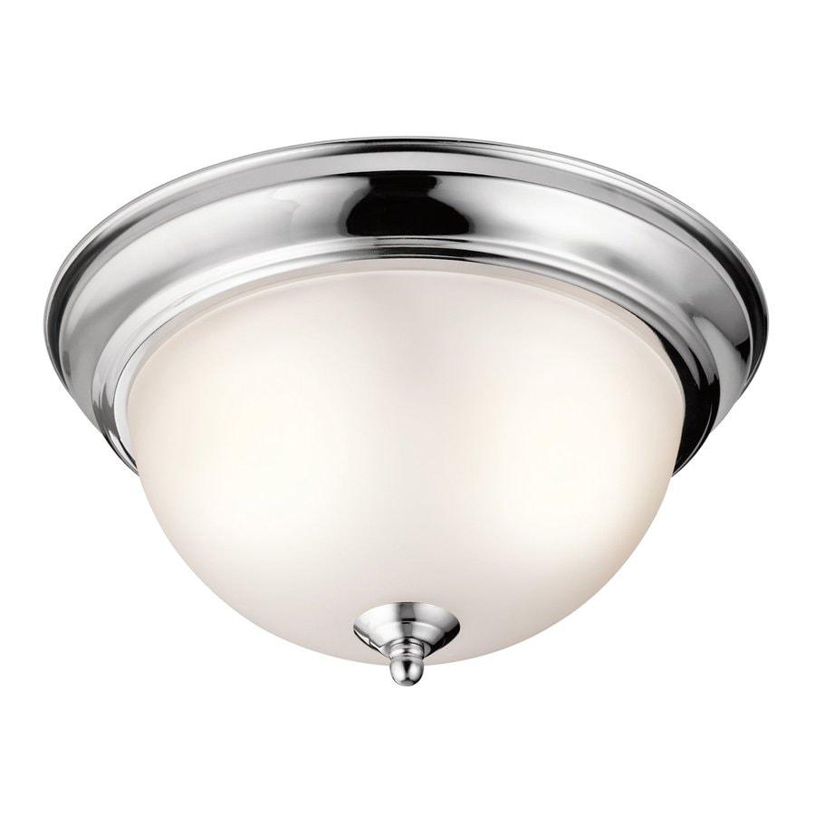 Kichler Lighting 11.25-in W Chrome Ceiling Flush Mount Light