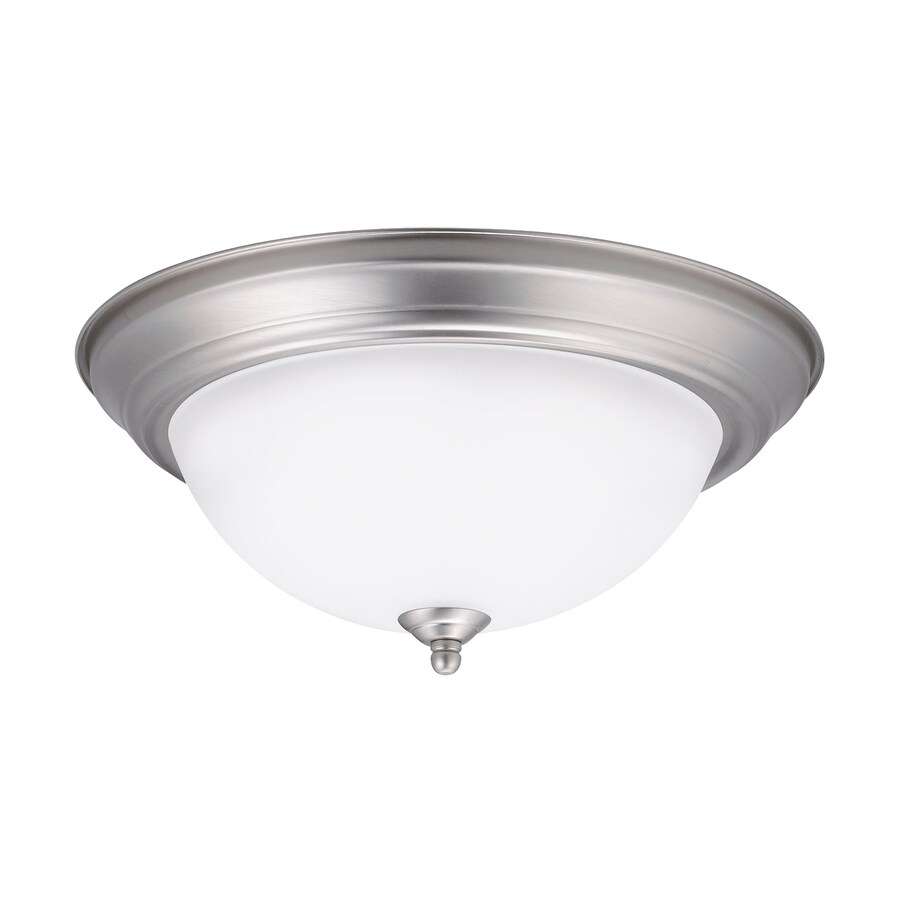Kichler Lighting 13.25-in W Brushed Nickel LED Ceiling Flush Mount Light