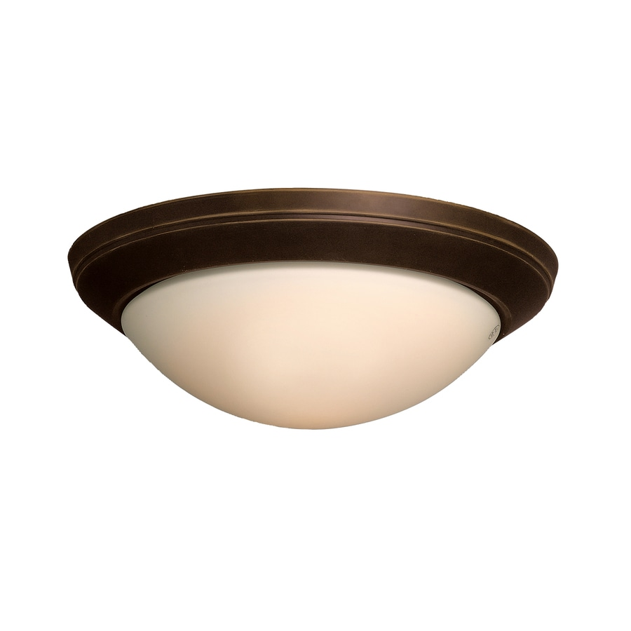 Kichler Ceiling Space 14-in W Olde bronze Flush Mount Light