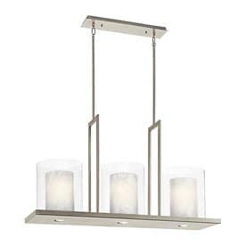 lighting island. kichler triad w 3light kitchen island light with tinted shades lighting h