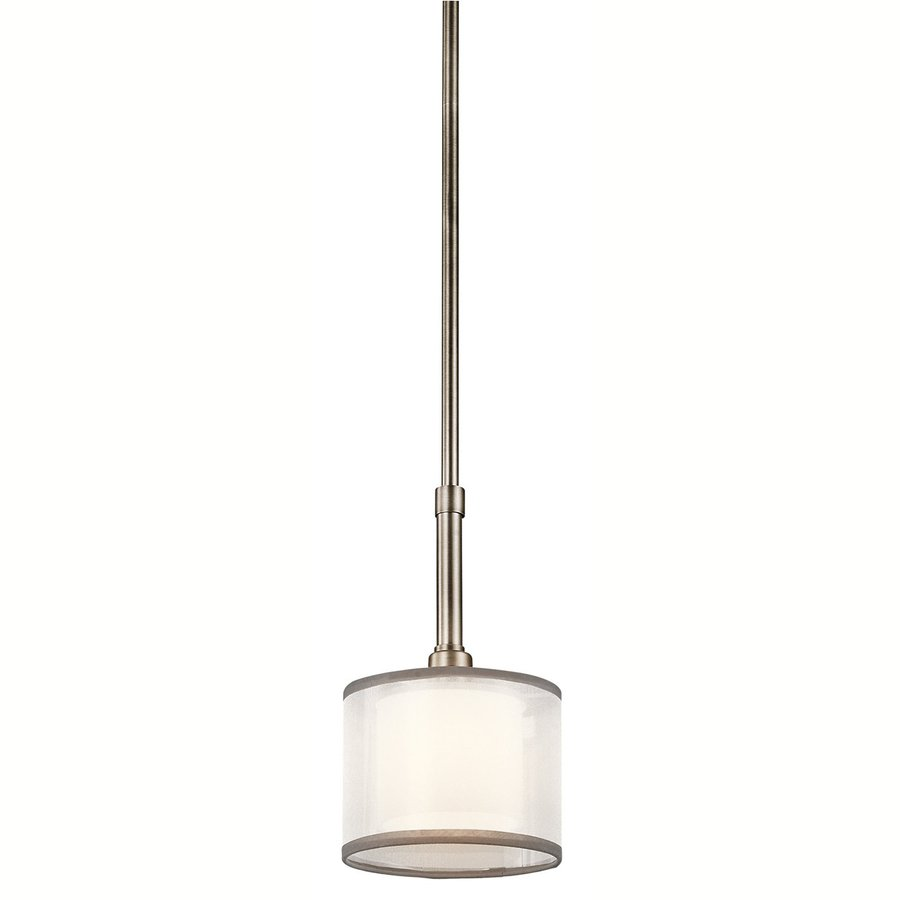 kichler kitchen lighting shop kichler 6 in antique pewter mini etched glass 2090