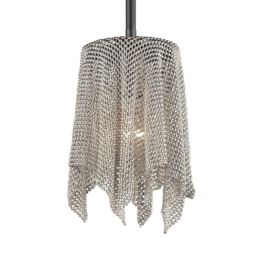 Kichler Lighting 6-in Brushed Nickel Hardwired Mini  Pendant
