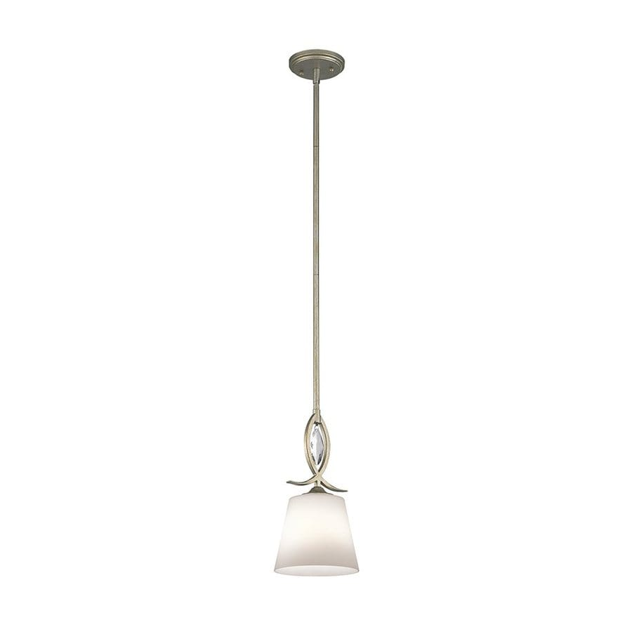 Shop Kichler Casilda 7 In Sterling Gold Hardwired Mini
