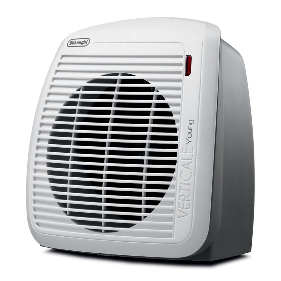 DeLonghi 5118-BTU Heater Fan Compact Personal Electric Space Heater with Thermostat