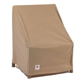 duck covers essential series latte polypropylene stacking chairs cover - Lowes Patio Furniture Covers