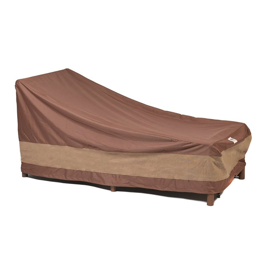Duck Covers Ultimate Series Mocha Cappuccino Polyester Chaise Lounge Cover