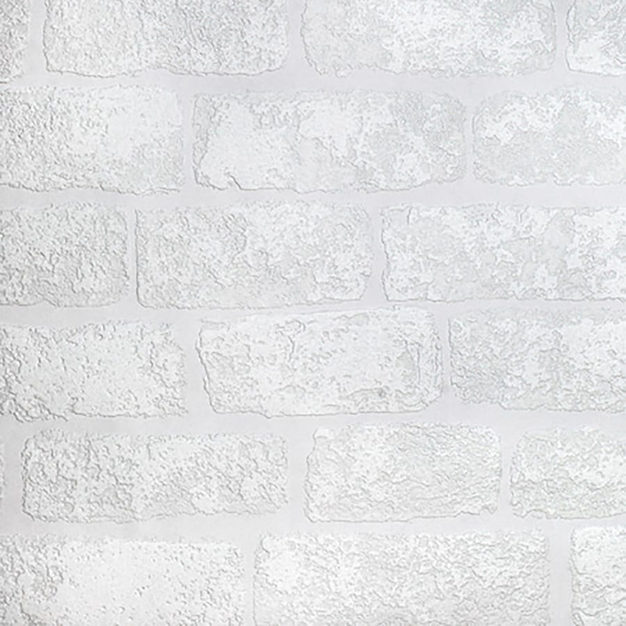 Brewster Wallcovering Anaglypta X Paintable Vinyl Paintable Brick Wallpaper