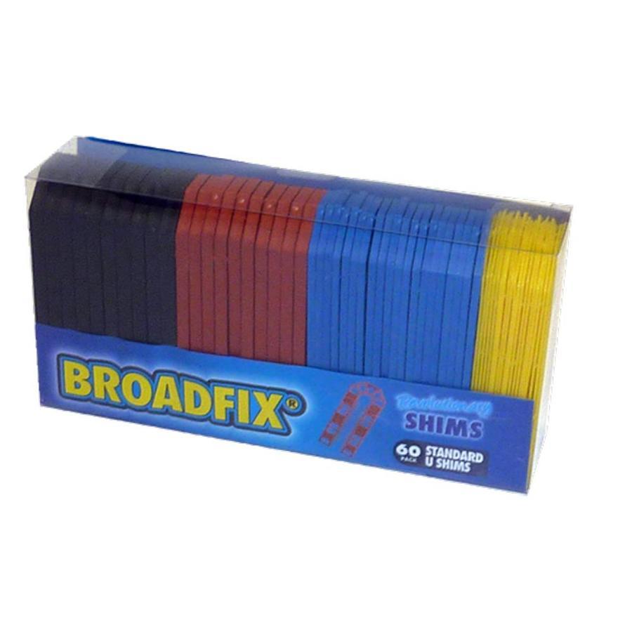 Broadfix Actual 1 75 In X 4 In X 8 In Plastic Shim At