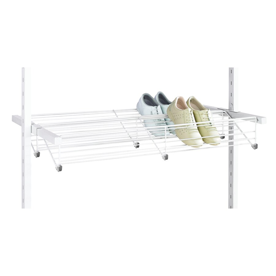space-pro 8 Pair White Metal Shoe Rack