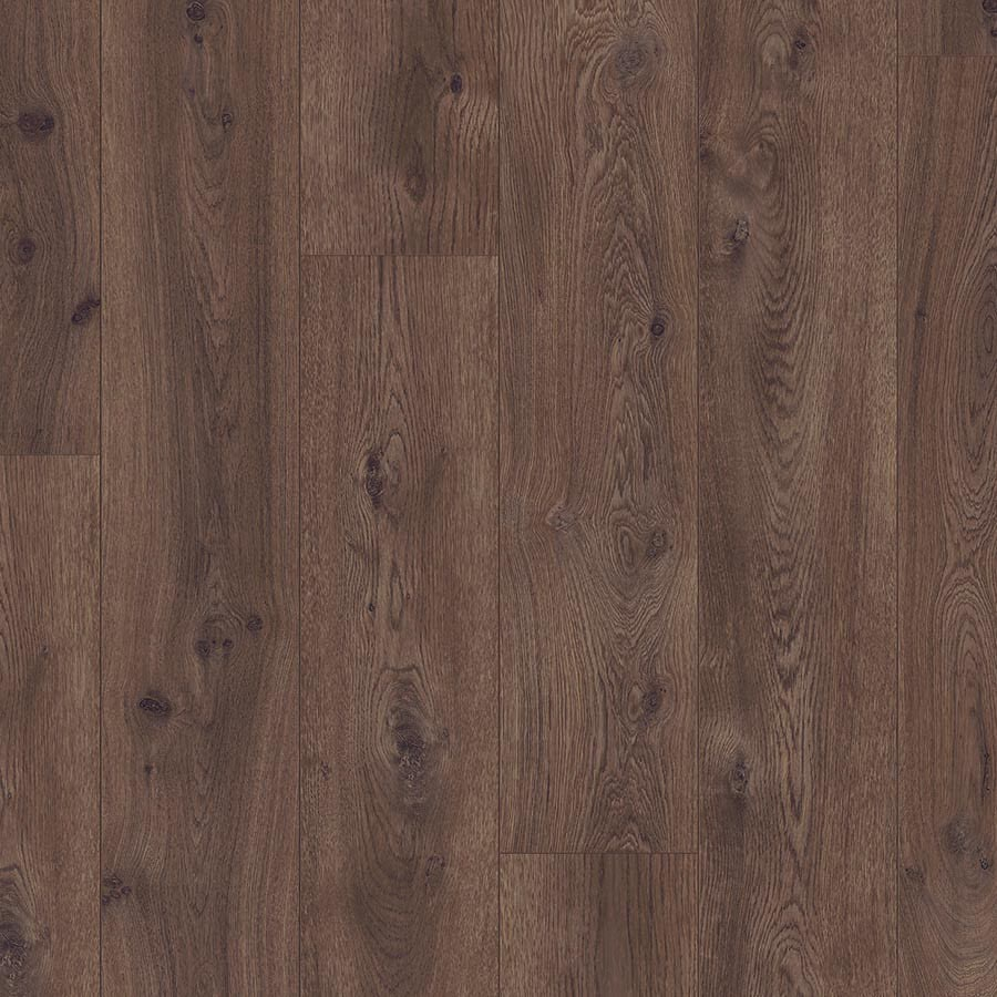 Pergo Portfolio 8.07-in W x 6.72-ft L Chocolate Oak Embossed Wood Plank Laminate Flooring