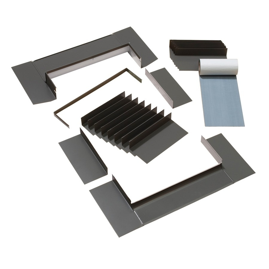 shop velux s01 s06 shingle roof aluminum deck mount skylight flashing kit at. Black Bedroom Furniture Sets. Home Design Ideas
