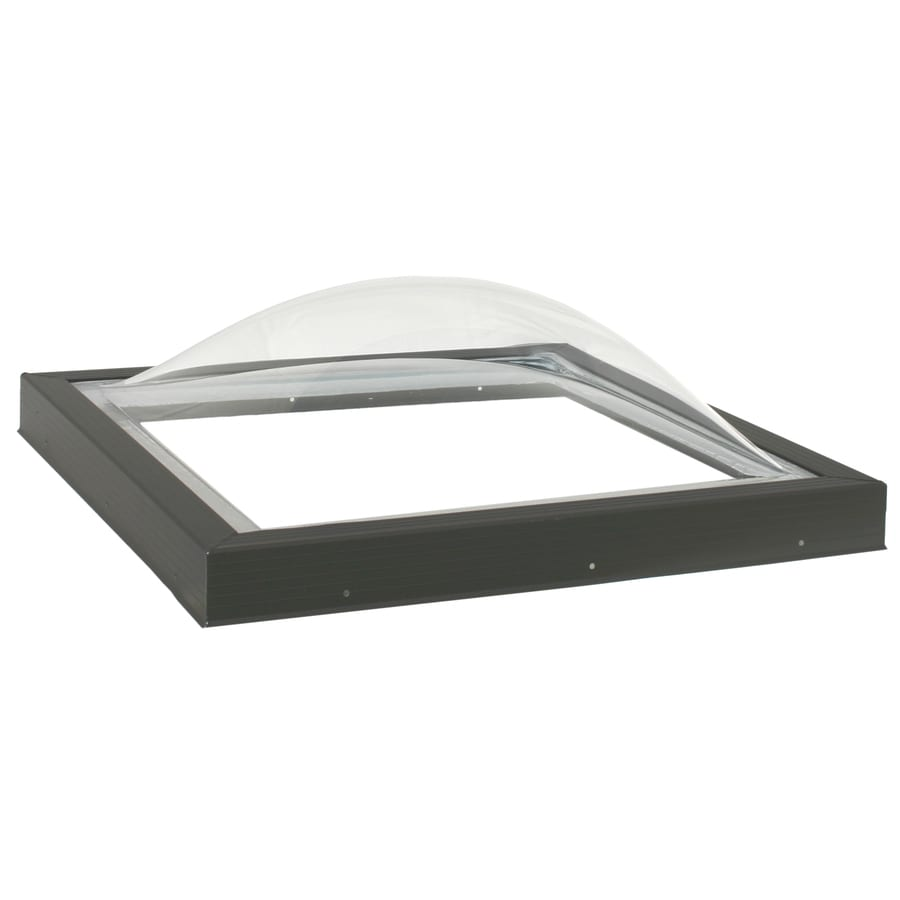 shop velux fixed skylight fits rough opening 34 5 in x 34 5 in actual 43 5 in x 43 5 in at. Black Bedroom Furniture Sets. Home Design Ideas