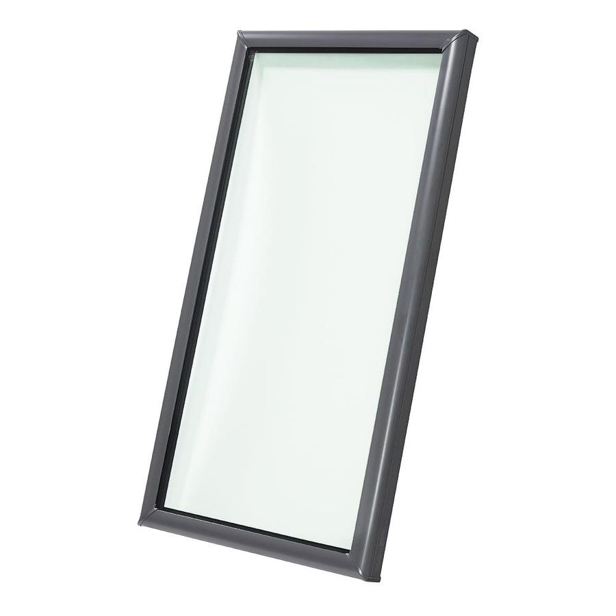 shop velux fixed tempered skylight fits rough opening 14 5 in x 30 5 in actual x. Black Bedroom Furniture Sets. Home Design Ideas