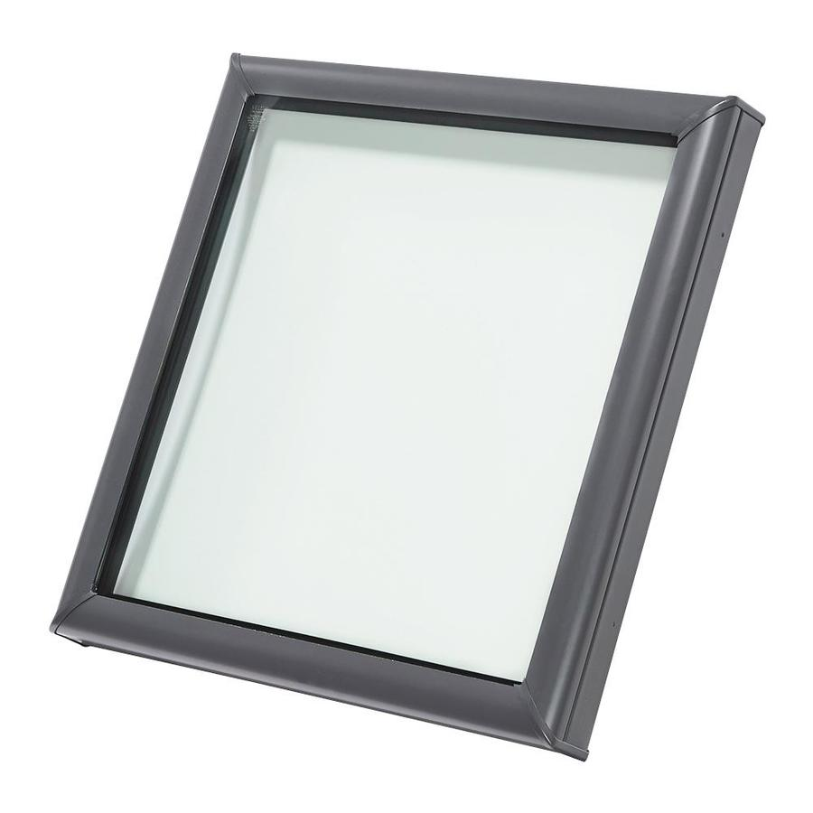 VELUX Fixed Tempered Skylight (Fits Rough Opening: 30.5-in x 30.5-in; Actual: 35.375-in x 35.375-in)