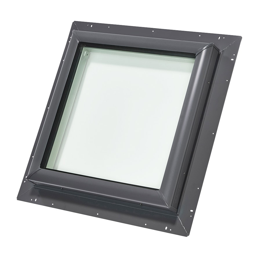 VELUX Fixed Tempered Skylight (Fits Rough Opening: 46.5-in x 46.5-in; Actual: 53.75-in x 53.75-in)