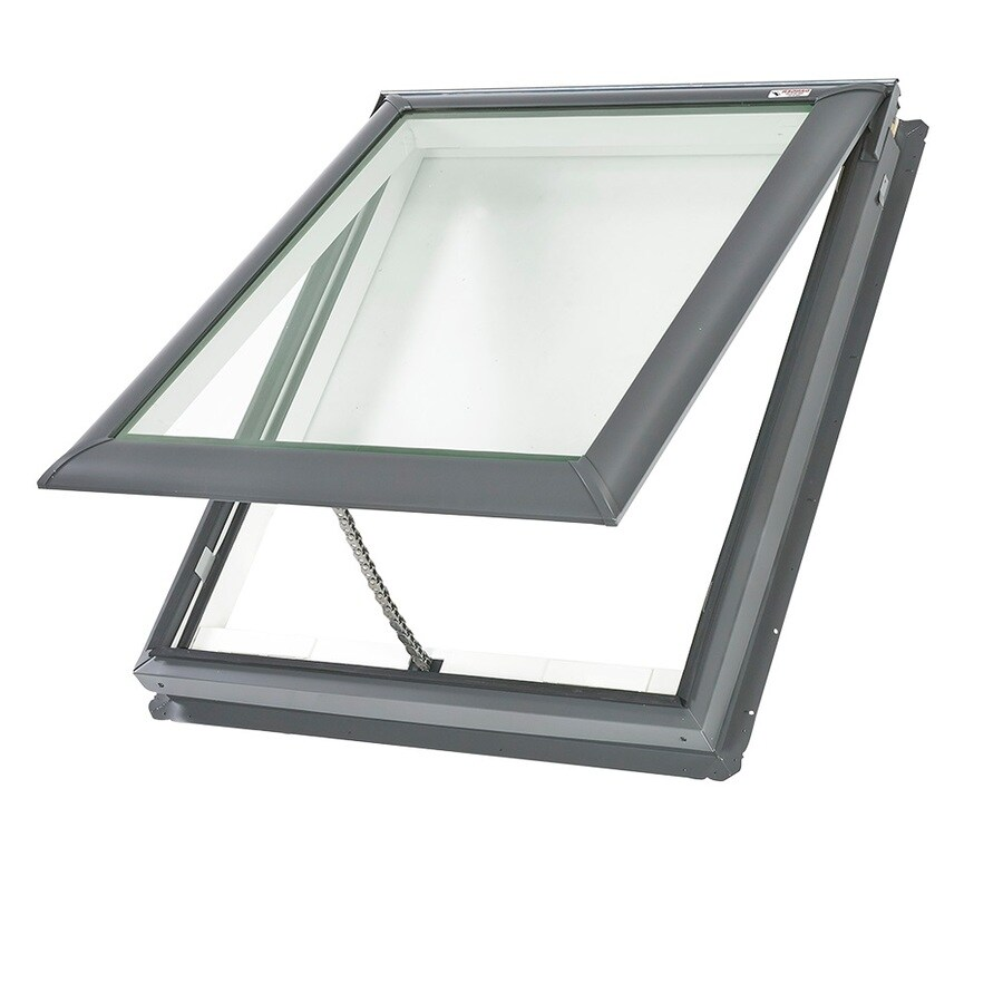Shop velux venting laminated skylight fits rough opening for Velux skylight remote control manual