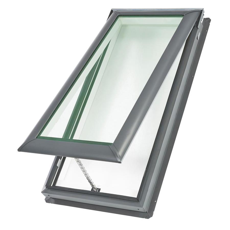 Shop velux venting tempered skylight fits rough opening for Velux glass